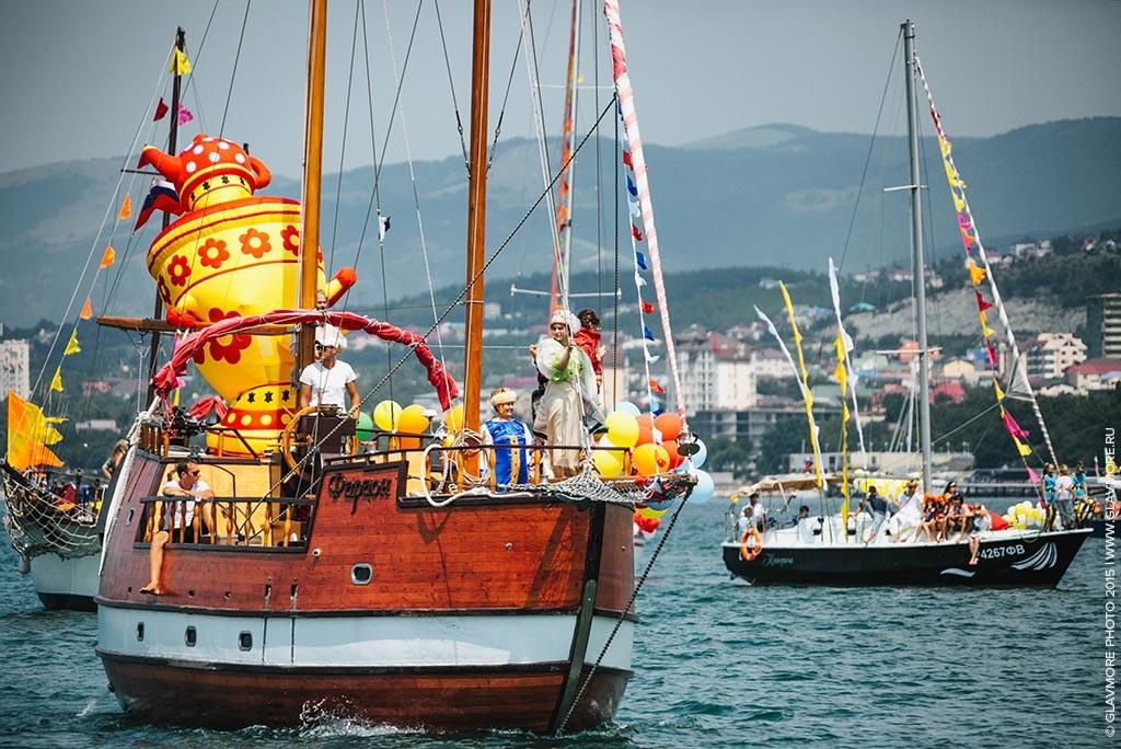 Карнавал на воде 2015 в Геленджике фото 15