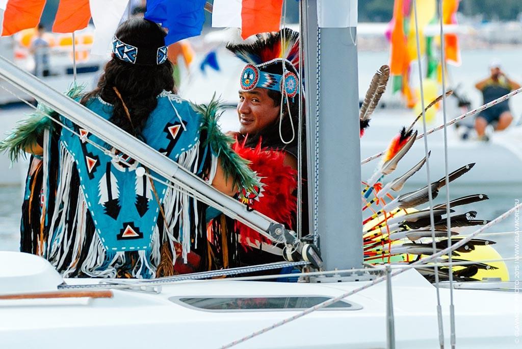 Карнавал на воде 2015 в Геленджике фото 6