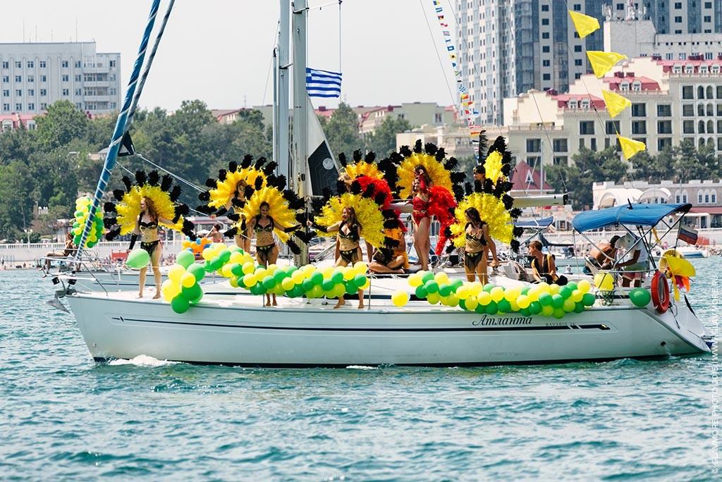 Карнавал на воде 2015 в Геленджике фото 19