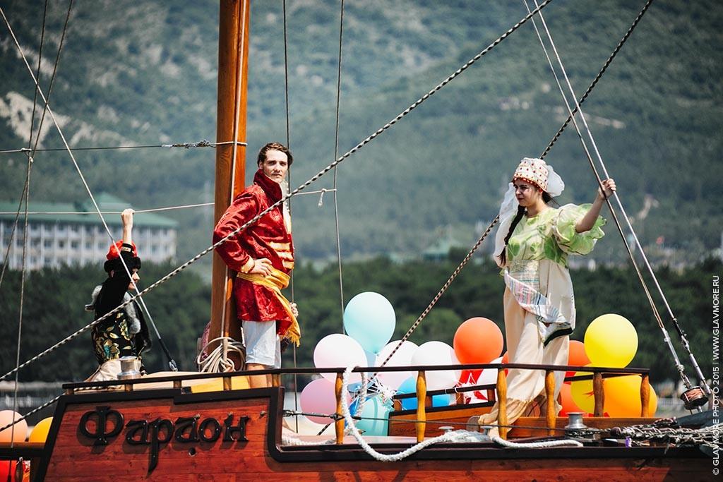 Карнавал на воде 2015 в Геленджике фото 16