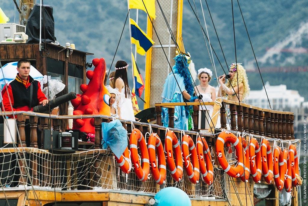 Карнавал на воде 2015 в Геленджике фото 13
