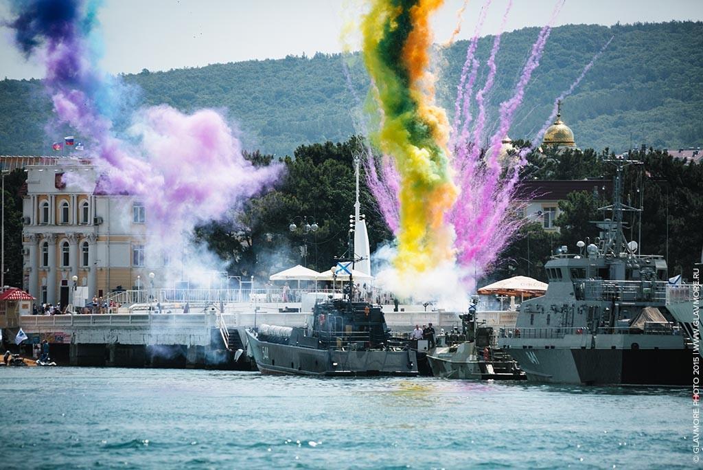 Карнавал на воде 2015 в Геленджике фото 17