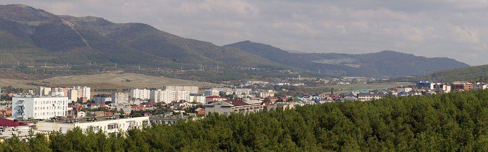 Восточная часть города в ста мегапикселях