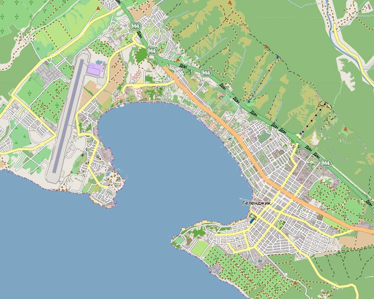 Народная карта Геленджика