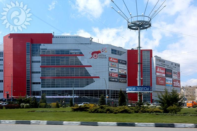 Красная площадь откроется в Геленджике