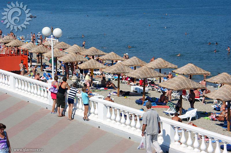 68 пляжей Геленджика