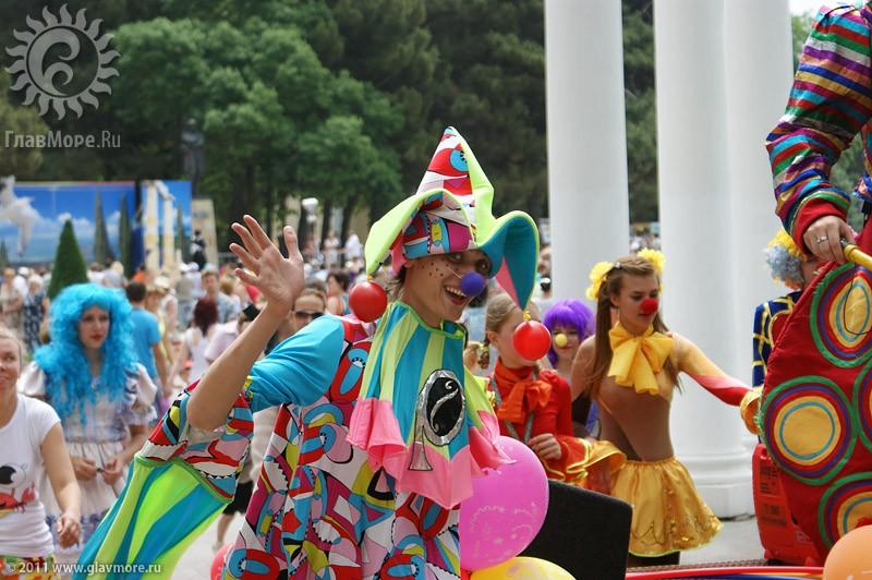 Карнавал 2014 в Геленджике