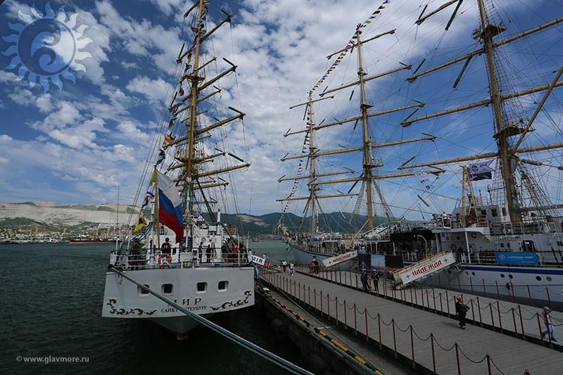 Парусный барк «Седов» прибыл в Новороссийск фото 5