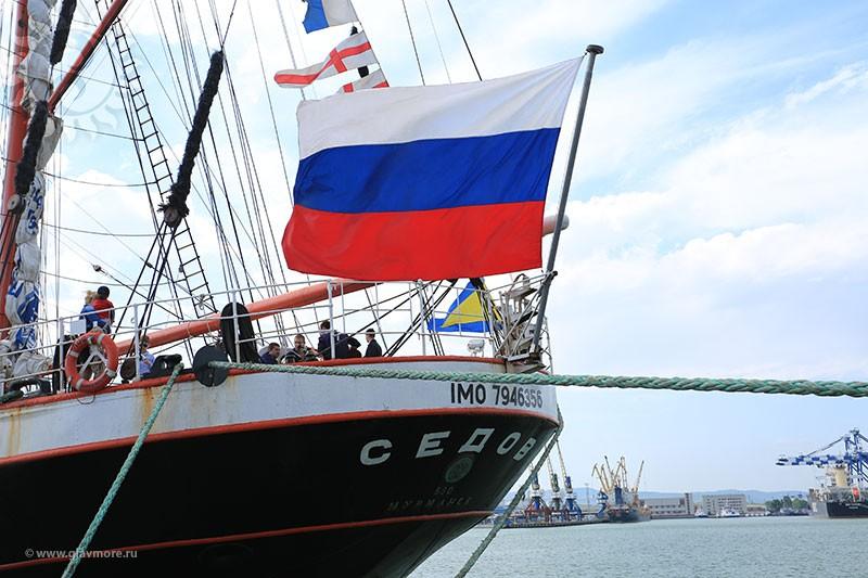 Парусный барк «Седов» прибыл в Новороссийск фото 6