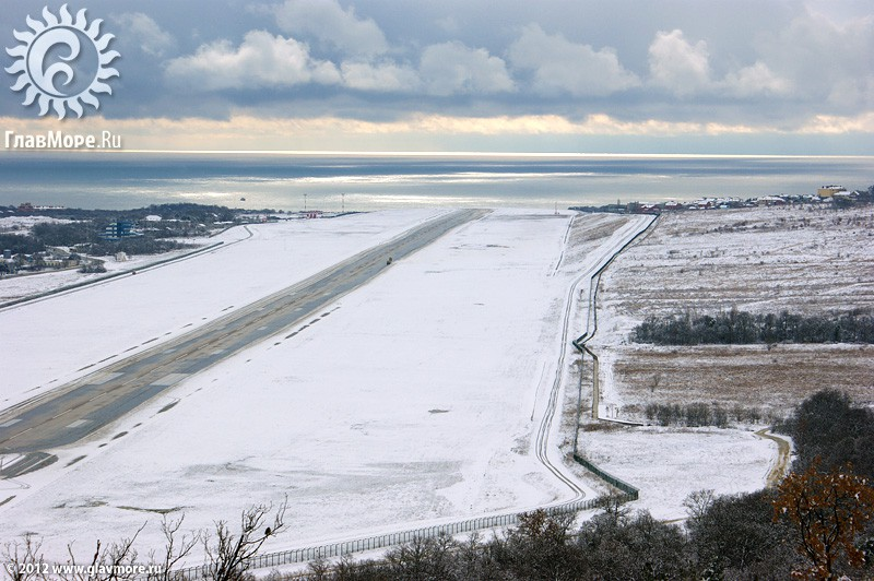 В Геленджике выпал снег фото 43
