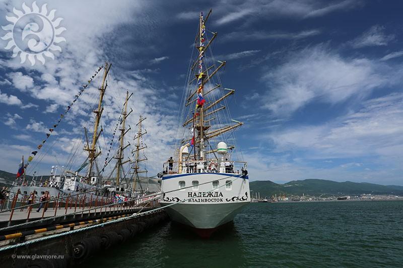 Парусный барк «Седов» прибыл в Новороссийск фото 12