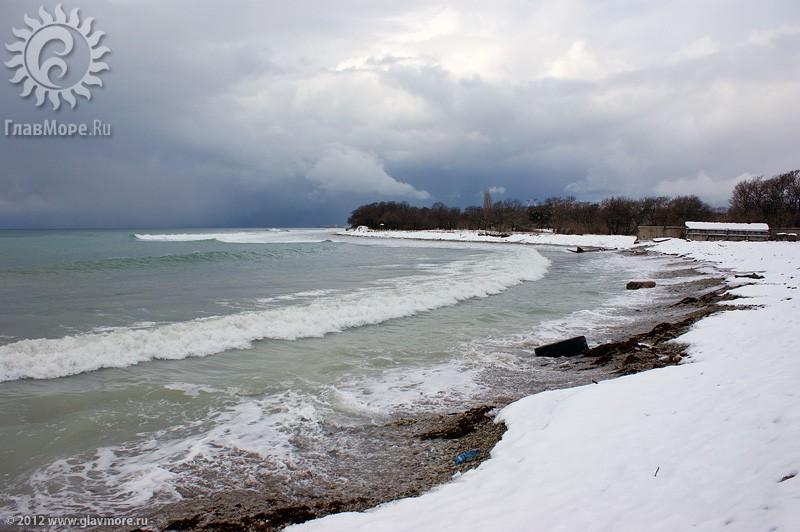 В Геленджике выпал снег фото 44