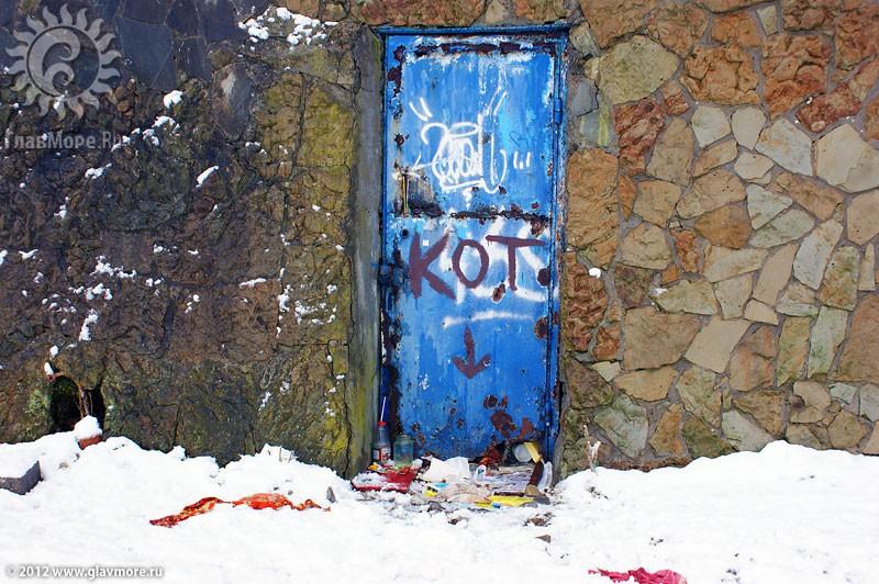 В Геленджике выпал снег фото 24