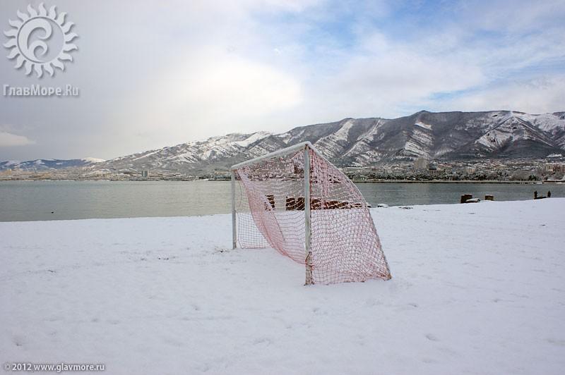 В Геленджике выпал снег фото 8