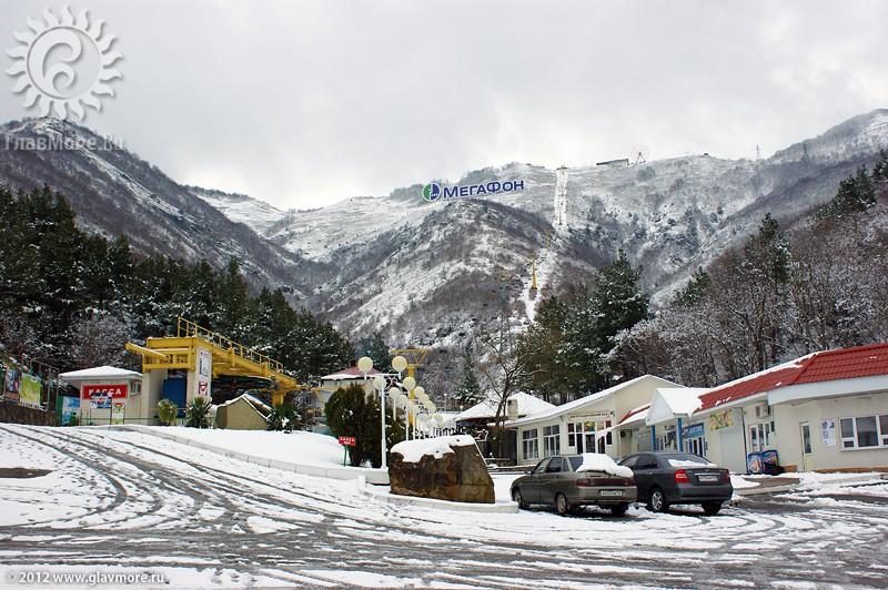 В Геленджике выпал снег фото 40