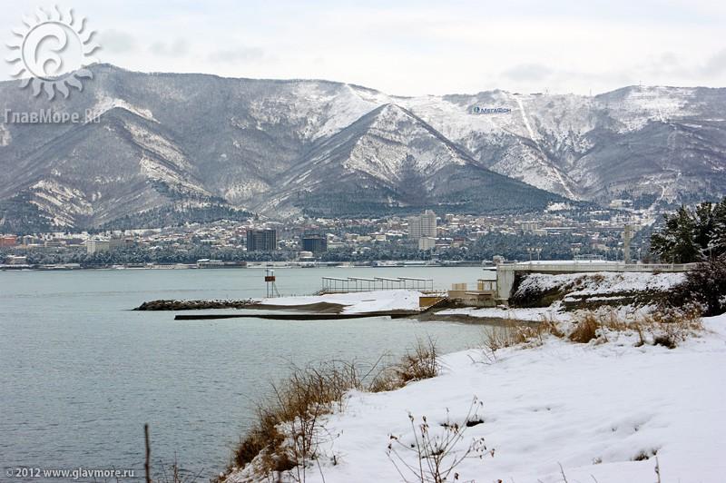 В Геленджике выпал снег фото 35