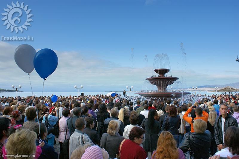 Новый фонтан в Геленджике фото 3