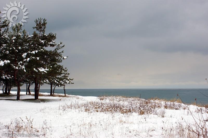 В Геленджике выпал снег фото 34