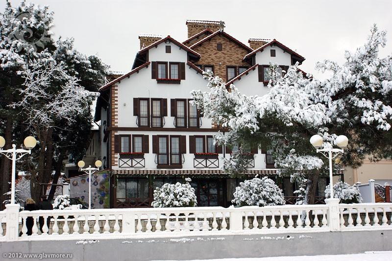 В Геленджике выпал снег фото 9