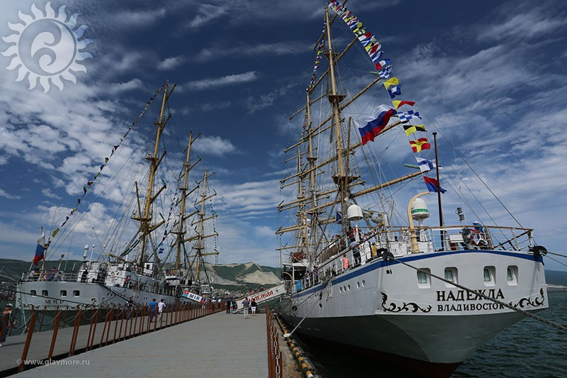 Парусный барк «Седов» прибыл в Новороссийск фото 13