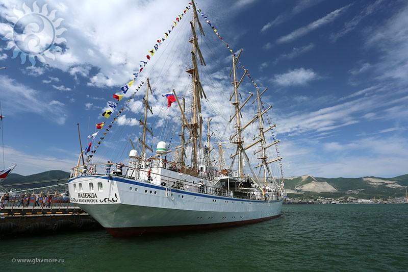 Парусный барк «Седов» прибыл в Новороссийск фото 9